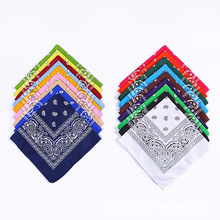 Scarf Women Headwear Bandana Hair-Tie-Band Pasiley Hijab Sports 18-Colors Square Female