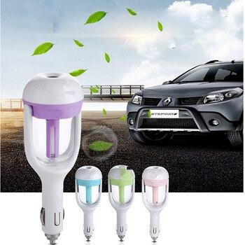 Car 12V Air Freshener Water Oil Diffuser Car Steam Air Humidifier Aroma Mini Air Purifier Diffuser Mist Maker Fogger