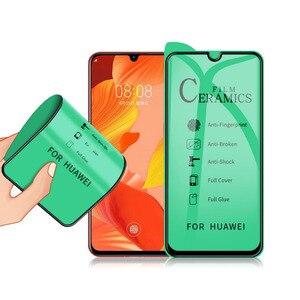 Image 1 - 50pcs For IPHONE 12 PRO/MINI/11 Pro Max Ceramic film For IPHONE XS/XR/678 Plus AG matte full Screen Protector