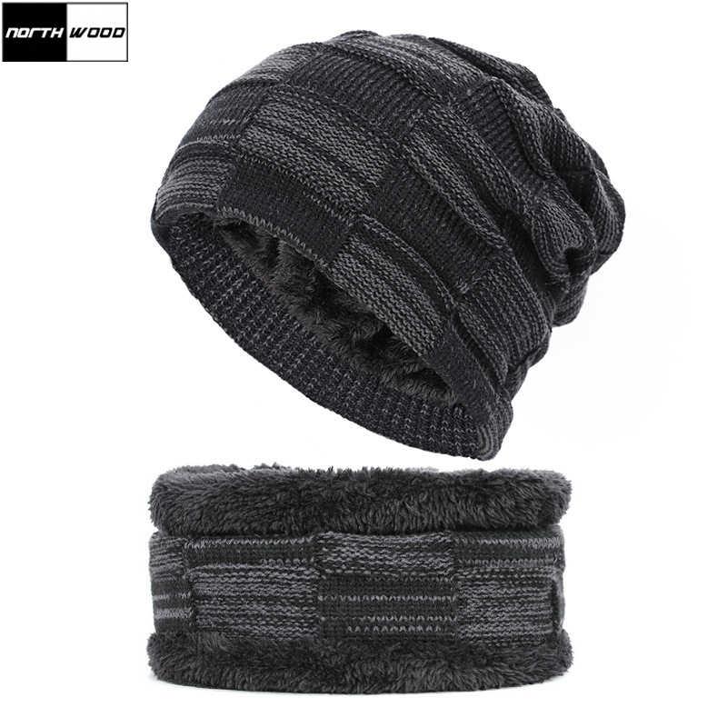 Men Women Camouflage Beanie Hat Knitted Hat Scarf Ski Slouch Hat Winter Warm Cap