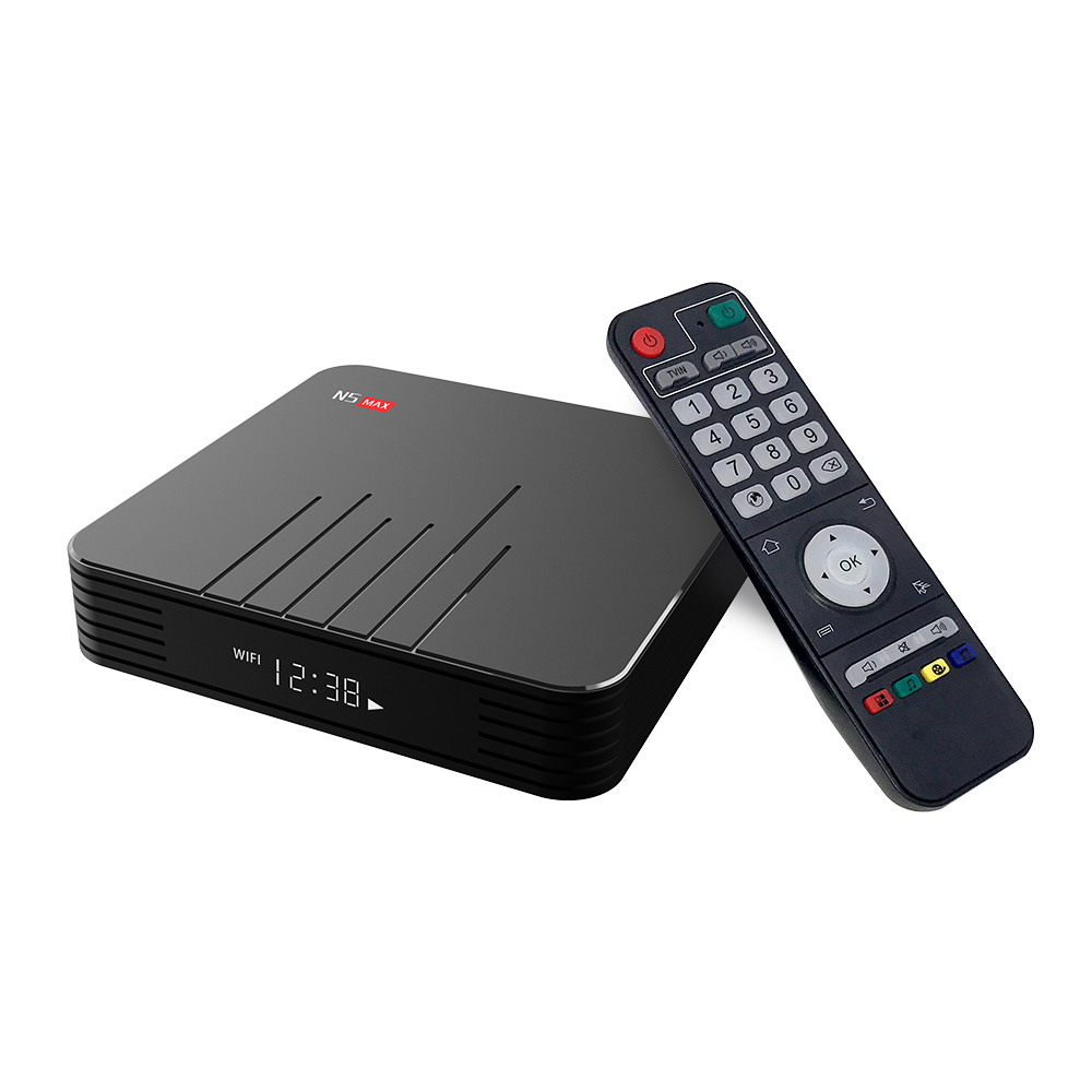 MAGICSEE N5 Max TV Box Android 9.0 Amlogic S905X3 4GB 32/64GB ROM Set Top Box 2.4GHz+5GHz Wifi BT4.0 4K Smart Media Player 10pcs(China)