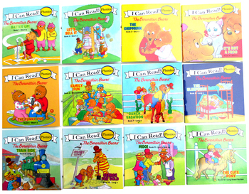 my very first mother goose 12 Books/set I Can Read Phonics Books My Very First Berenstain Bears English Picture Story Pocket Book for Children