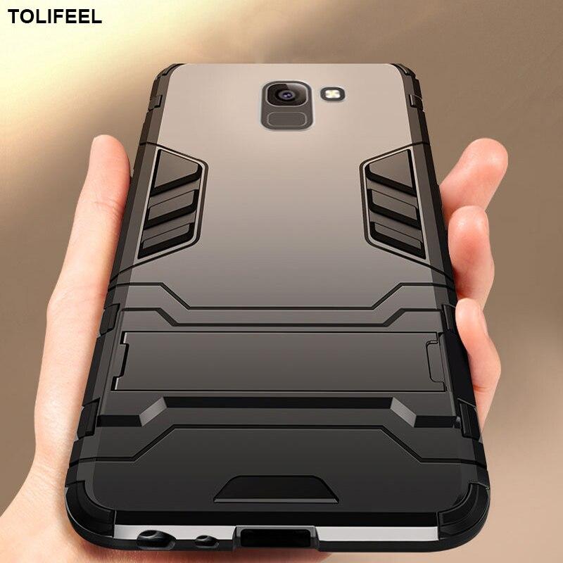 Чехол для Samsung Galaxy J4 J6 Plus 2018 силиконовый чехол противоударный жесткий бронированный тонкий задний Чехол для телефона Samsung J4 J6 Coque