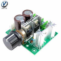 10A PWM DC Motor gobernador 12 V-40 V controlador de velocidad del Motor DC Stepless velocidad Variable módulo interruptor de Control control de velocidad del Motor