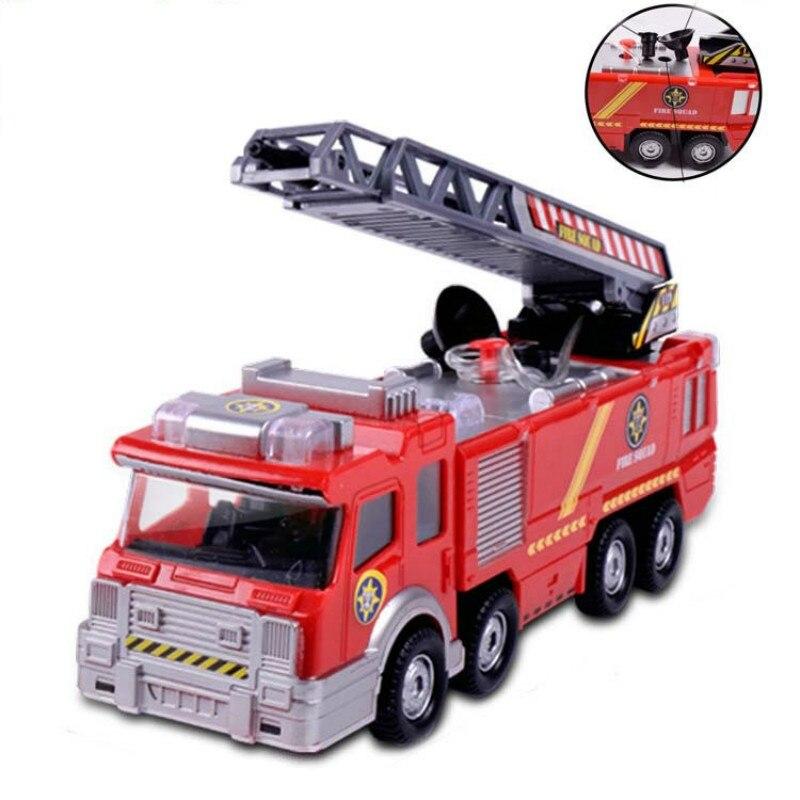 Brinquedos Elétricos para crianças De Incêndio Por Aspersão Caminhão Universal Luz Música Brinquedos Modelo