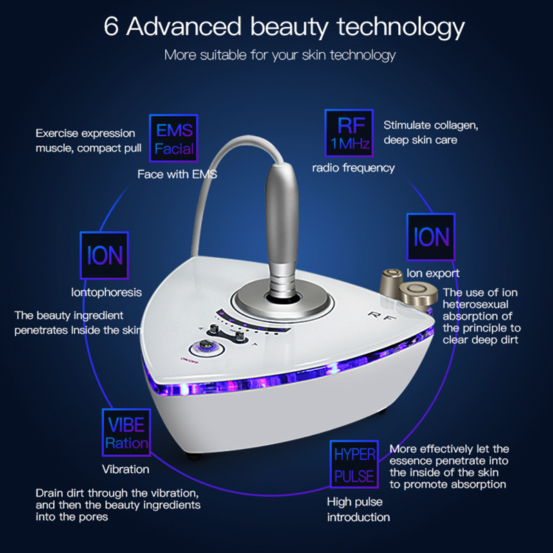 Multipolar Frequency Beauty Care RF Massager