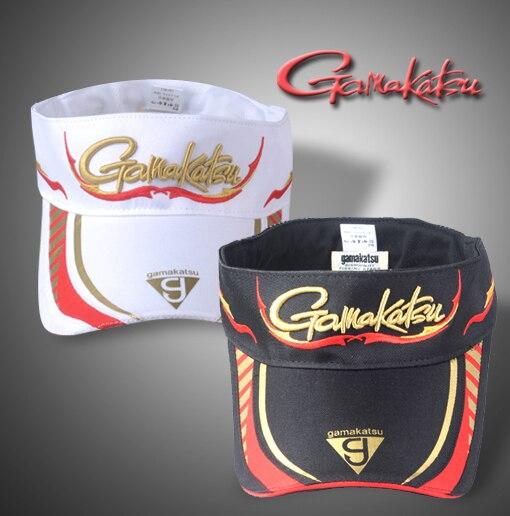 Gamakatsu fishing cap sun fishing hat Adjustable Caps Sunscreen Fishing Caps Outdoor Sport Quality Sunshade Camping Hiking Cap