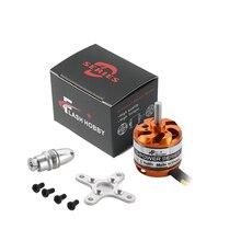 FlashHobby D3536 1450KV/1250KV/1000KV/910KV moteur sans balais avec 2 4s Lipo