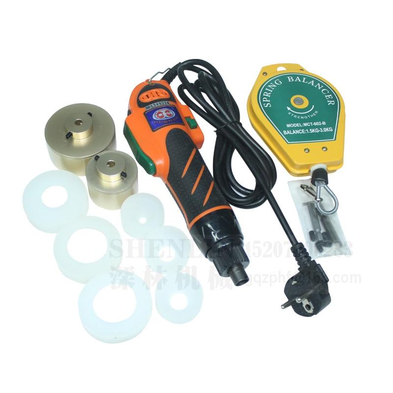 SHENLINボトルキャッピングマシンプラスチックボトルキャッピングマシン10-50mmキャップスクリューキャッピングマシン、60kg / fcm、手動ボトルキャッパー