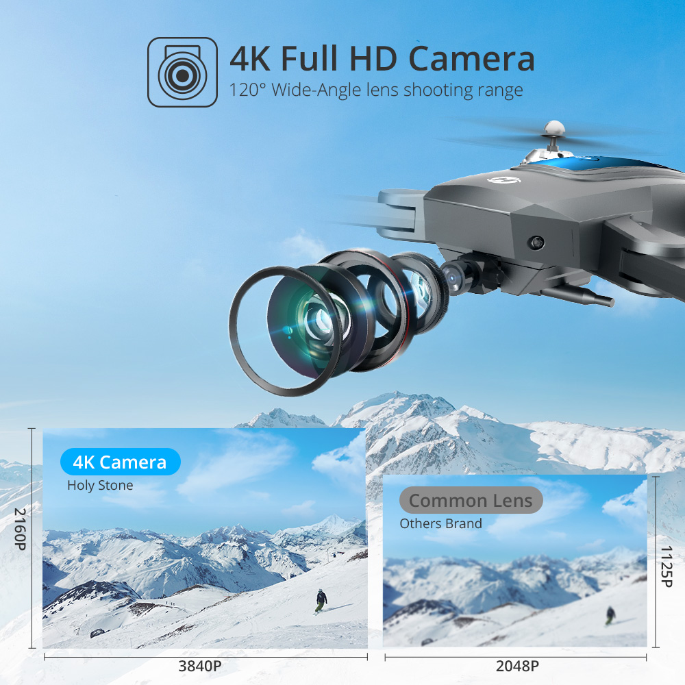 Top SaleQuadcopter Drone Camera Holy-Stone Foldable Profesional Kids 720P HS240 HD for 200MP