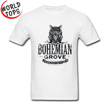Bohemian Grove Owl Pattern Retro T Shirts Mass Effect Voltron Teen Wolf Men Tops T Shirt Justin Bieber White Sweatshirt Man(China)