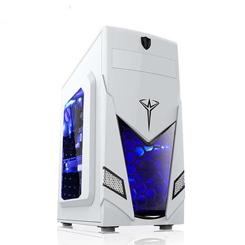 2020 Hot ATX Gaming Computer Case PC Gaming PC Tower Computer Box Micro-ATX  ITX Transparent Panel Side For PC Gamer Enclosure