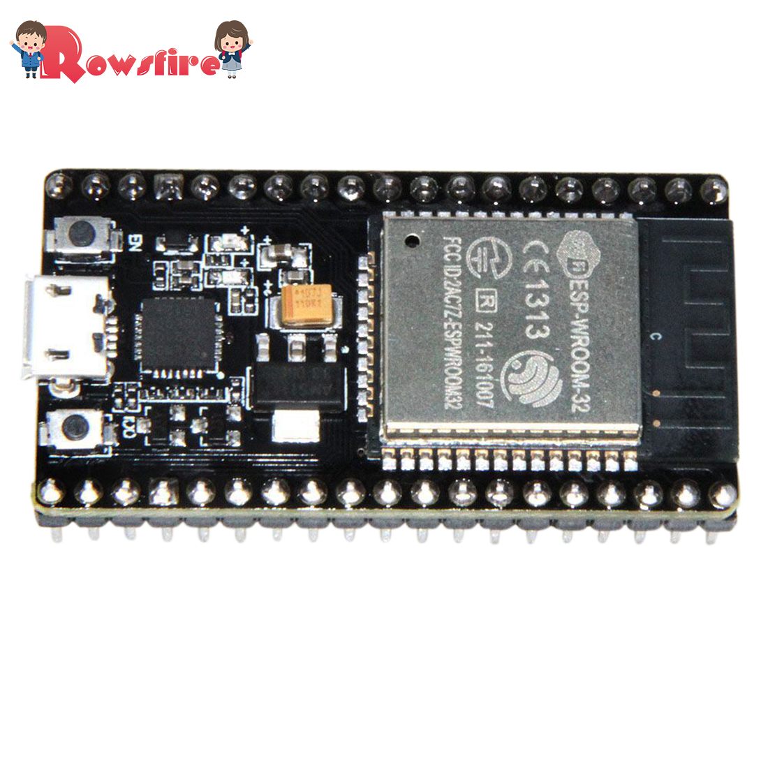 Wireless Wifi Bluetooth 2-In-1 Dicaryon CPU Low-Power Dissipation ESP32 Development Board
