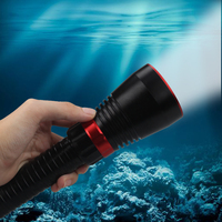 XHP70 LED White Light 2000 Lumens Diving Flashlight 26650 Torch Underwater 100M xhp70.2 spearfishing led diving lamp