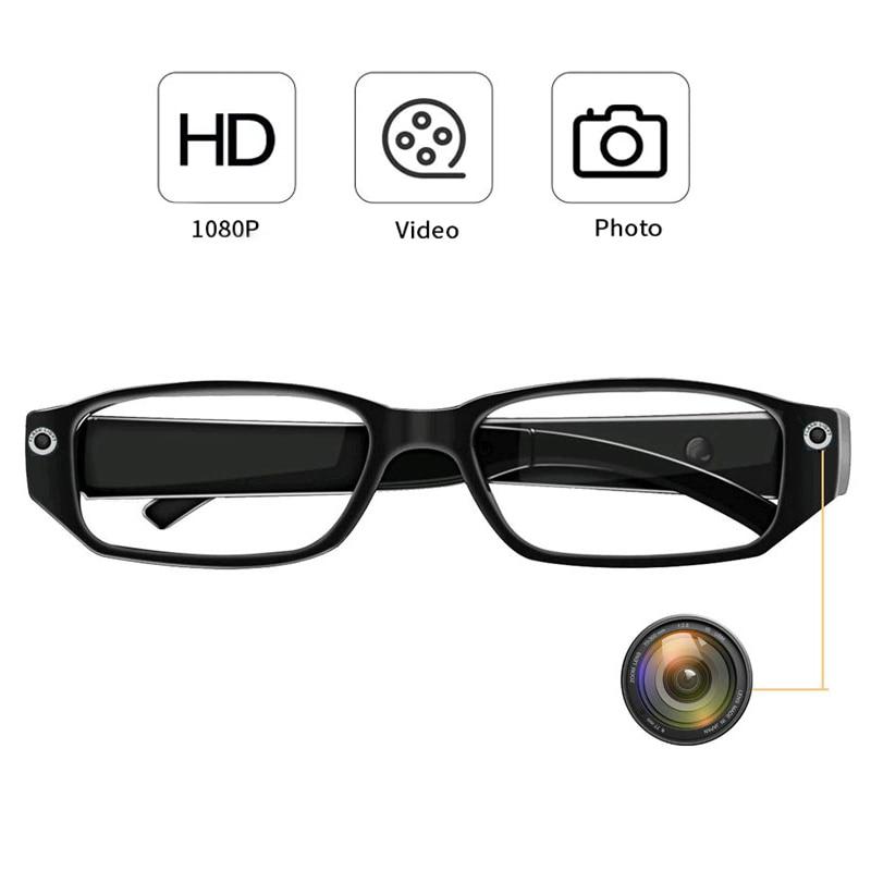720P/1080p HD Smart Glasses Camera Photo Video Recorder Mini DV Camcorder Mini Cam Glasses