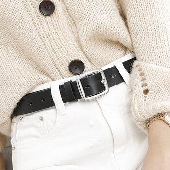 New luxury brand ladies belt square buckle design fashion wild jeans dress student belt pin buckle tide brand retro belt dresses lucky child for girls 24 6 dress kids sundress baby clothing children clothes