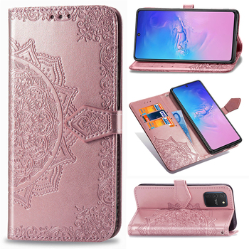 10 Pcs/lot S10 Lite Flower Butterfly Leather Case For Samsung Galaxy S10 Lite Case Wallet Card Cover For Galaxy A91 Cover фото