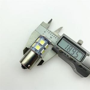 Image 2 - רכב מהבהב בלם אור להדגיש 5050smd רכב Led היגוי היפוך אור 1156/1157 13 אור Led