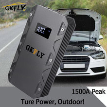 Gkfly High Power 20000 Mah Auto Jump Starter 12V 1500A Draagbare Uitgangspunt Apparaat Power Bank Autolader Voor Auto batterij Booster Led(China)
