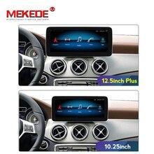 Android 10 Auto Gps Navigatie Radio Speler Voor Mercedes Benz A klasse W176/Cla Klasse W117/Gla X156 ntg 4.5 Met Hd Ips Scherm