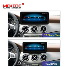 Android 10 car gps navigation radio player for Mercedes benz A class W176/CLA Class W117 / GLA X156 NTG 4.5 with HD IPS screen