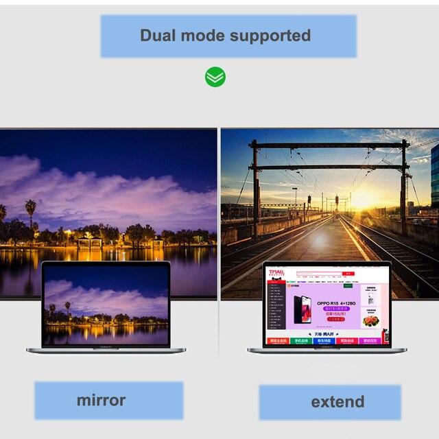 Thunderbolt Mini DP vers DVI HDMI VGA displayport adaptateur câble pour apple macbook pro dair mini et plus