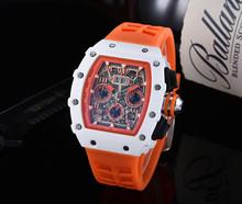 2021 RM nowy Richard męskie zegarki Top marka luksusowe zegarki męskie Mille DZ mężczyzna zegar kwarcowy automatyczne zegarki na rękę tanie tanio LIWO QUARTZ NONE Klamra CN (pochodzenie) STAINLESS STEEL Nie wodoodporne Moda casual 22mm ROUND 15mm Odporny na wstrząsy