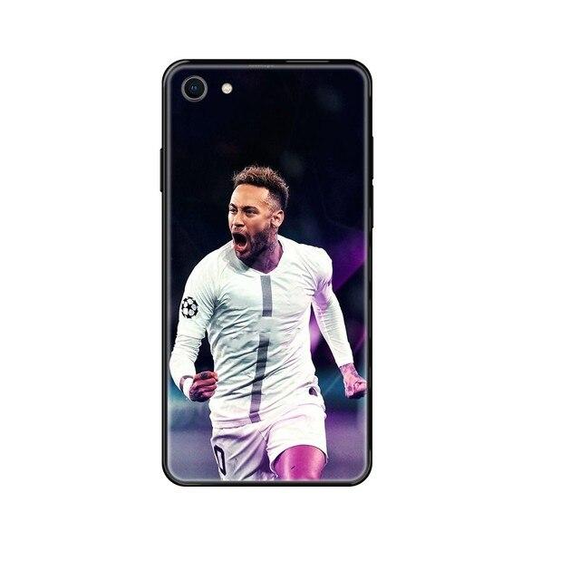 football soccer star Neymar jr 3D luxury shell Etui black Phone case For Huawei Honor Mate 5 6 7 8 9 10 20 A C X Lite