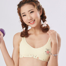 New adolescent girls sport underwear elementary and junior high school students pure cotton bra manufacturers direct