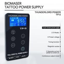 Tattoo Power Supply HP-2 UPGRADE Touch Screen TP-5 Intelligent Digital LCD Makeup Tattoo Machine Supplies set стоимость