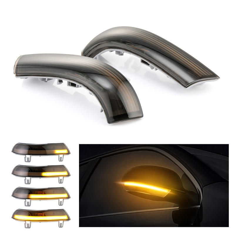2x Dynamic LED Turn Signal Light Side Mirror Indicator Blinker For VW Passat B6 GOLF 5 Jetta MK5 Passat B5.5 GTI V Sharan Superb