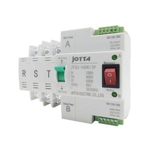 Image 4 - ATS Dual Power Automatic Transfer Switch JTQ1 100A 2P/3P/4P  Circuit Breaker MCB AC 230V  Household 35mm Rail Installation