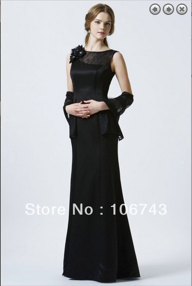 Free Shipping Formal Party Prom Gown Elegant 2018 New Brides Vestidos Formales Long Black Vestido De Noiva Bridesmaid Dresses