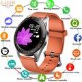LIGE Смарт-часы женские спортивные фитнес-трекер пульсометр Монитор артериального давления для Android ios шагомер Водонепроницаемые умные часы