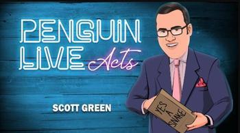 2020 Scott Green Penguin Live Act magiczne sztuczki-magiczne sztuczki tanie i dobre opinie TR (pochodzenie) Unisex Jeden rozmiar online files Nauka ŁATWE DO WYKONANIA Beginner Profesjonalne Dla magików ulica Etap