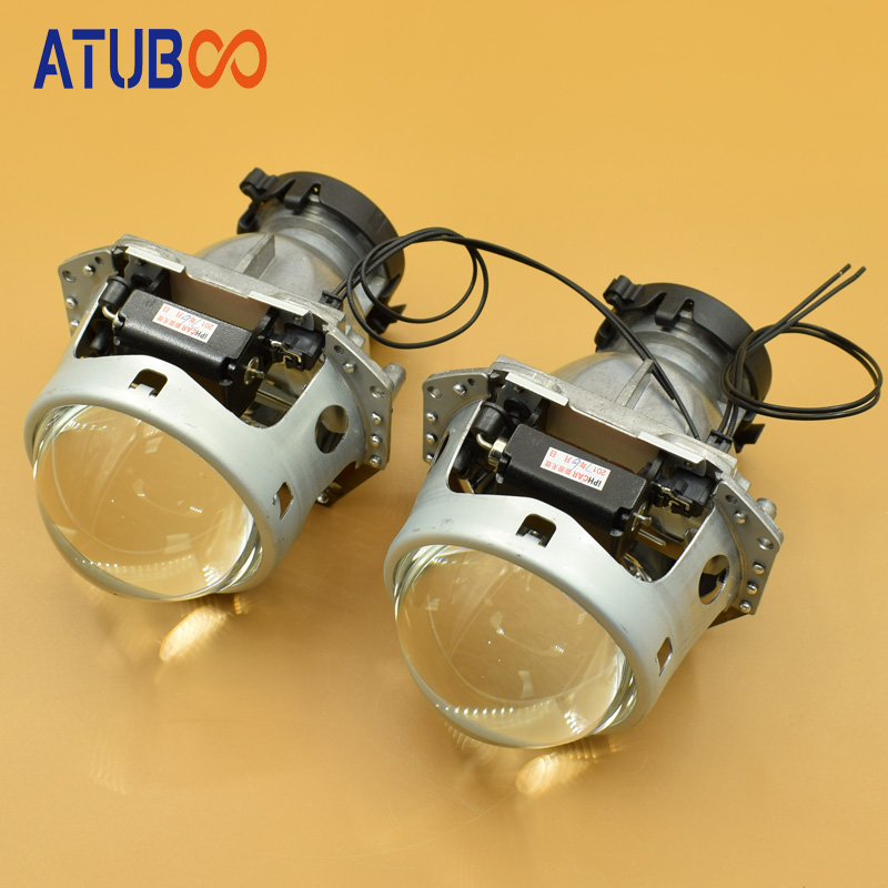 Super Bright 3.0 Hella 5 Car Projector lens for Motorcycle Headlight Metal Holder Use D1S D2S D3S D4S Hid Xenon bulb