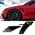 Автомобильная наклейка на вентиляционное отверстие, наклейка на боковые крылья для Audi ABT, RS3, RS4, RS5, RS6, A6, C6, C5, A1, A3, 8P, A4, B8, B6, A5, A7, A8, Q5, Q7, TT, R8, ABT, 2 ...
