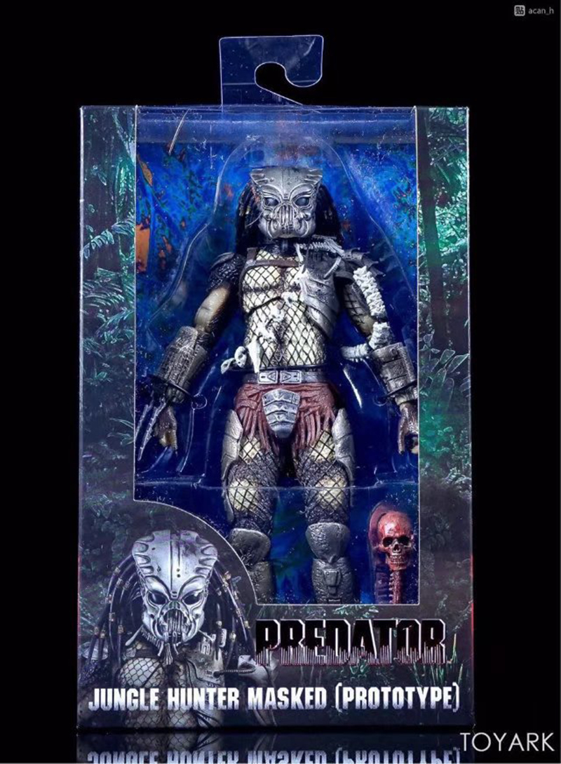 "NECA Predator édition 30e anniversaire Jungle Hunter masked  7/"" figurine 18cm"