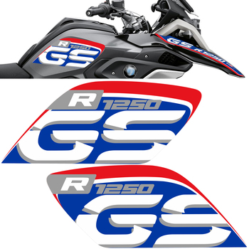 R 1250 GS Stickers For BMW R1250GS Tank Pad Protector Fender Fairing Luggage Aluminum Case handguard GSA Adventure Motorcycle image