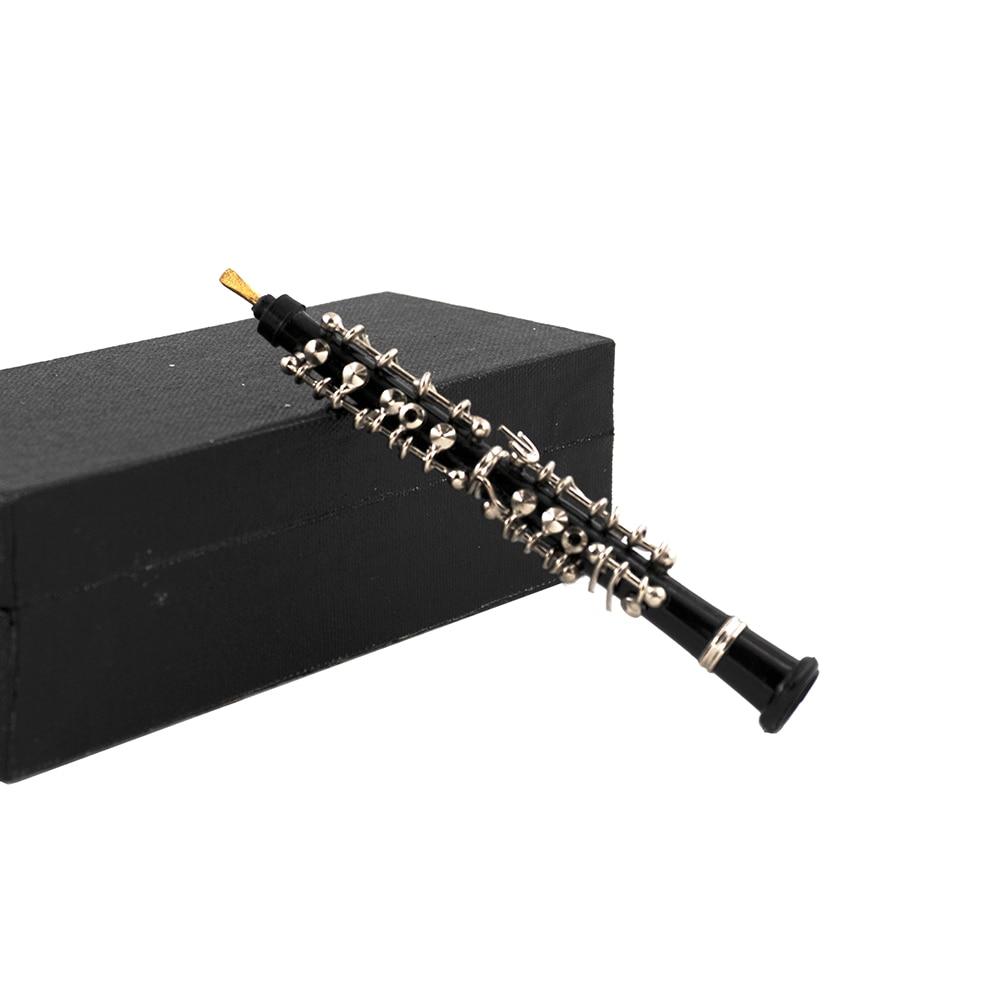 Miniatur Oboe Mini Musikinstrument Dekoration