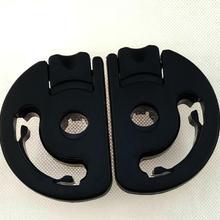 Пара,, для peugeot 307, подлокотник для сиденья, пластиковое крепление, кронштейн для подлокотника Пикассо/ограничитель регулировки подлокотника, зажим