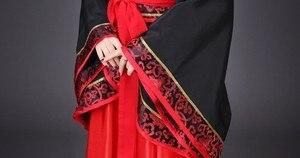 Image 4 - Starożytne chińskie przebranie na karnawał starożytne w chińskim stylu Hanfu kobiety Hanfu ubrania pani etap Hanfu sukienka do chińskiego narodowego ubrania