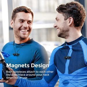 Image 4 - MPOW S16 magnétique sans fil écouteurs IPX7 étanche Bluetooth 5.0 sport écouteurs avec 12H Playtime pour iPhone 11 Xiaomi Samsung