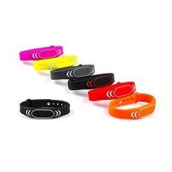 Wodoodporna 125khz bransoletki nadgarstek TK4100 Rfid Wrist band karta kontroli dostępu czytnik Wrist band Tag dla dorosłych dzieci dziecko|Karta IC/ID|Bezpieczeństwo i ochrona -