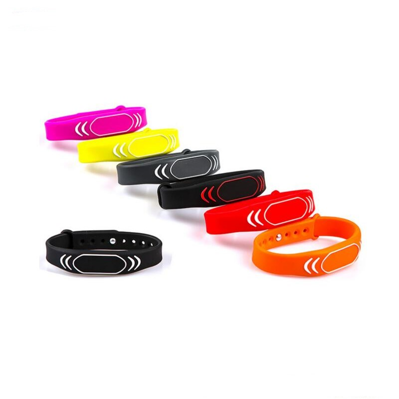 Waterproof 125khz Bracelets Wristband TK4100 Rfid Wrist Band Access Control Card Reader Wrist Band Tag For Adult Kids Baby
