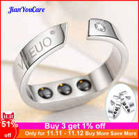 Anti Snore Ring Magnetic Therapy Acupressure Treatment Against Snoring Device Snore Stopper Finger Ring Sleeping Aid sleep help