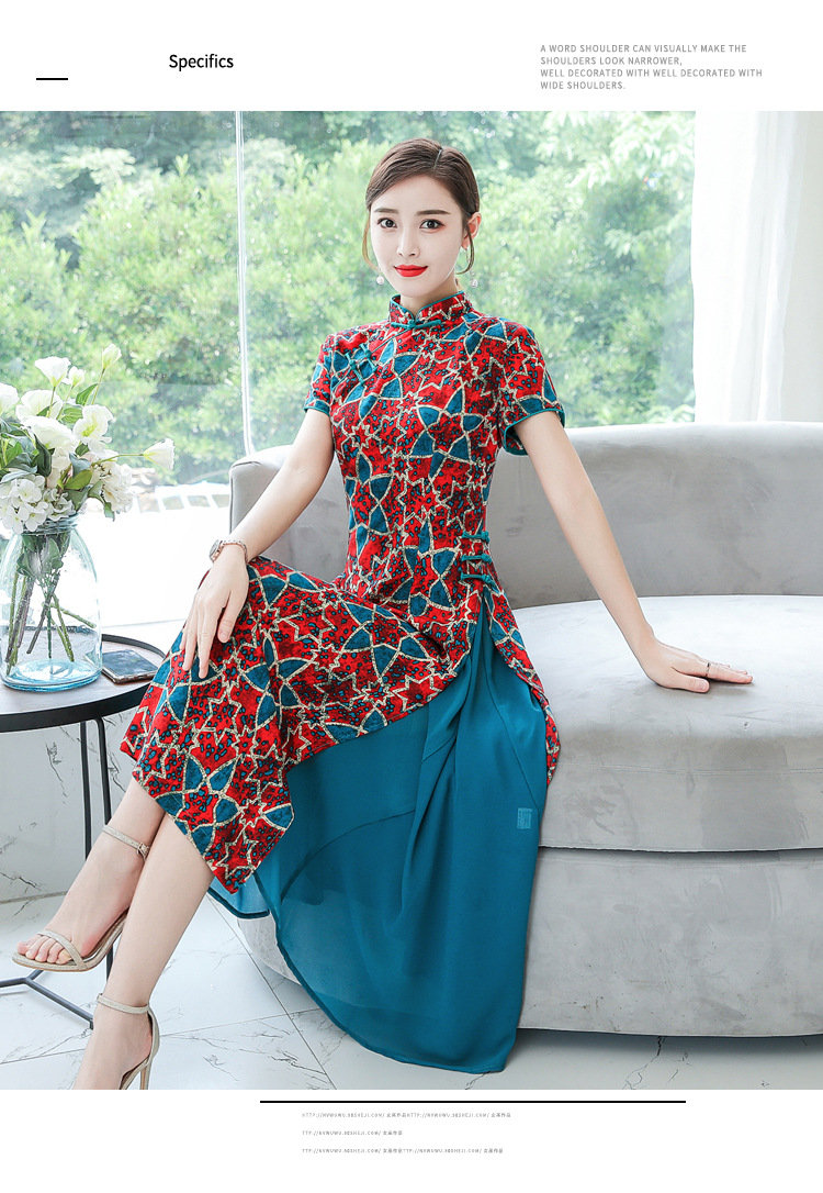 Vietnã vestido feminino da moda ao dai