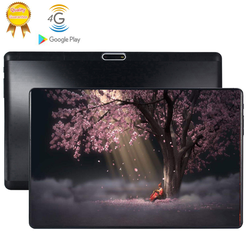 2020 Multi-touch Glass Screen 10.1 Inch Octa Core 4G FDD LTE Tablet 6GB RAM 64GB ROM 1280 800 Dual Cameras Android 9.0 Tablet 10