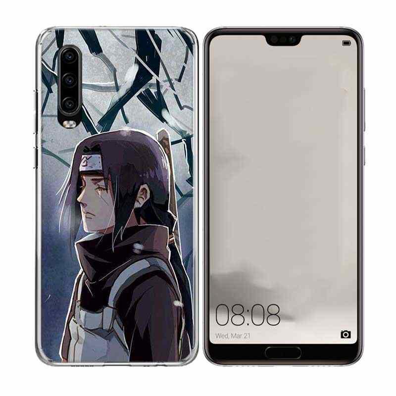 Akatsuki Kakashi logo Naruto yumuşak TPU kılıf için Huawei onur 10 9 lite P akıllı Z artı 2018 8S 8X Y5 Y6 Y7 Y9 2019 kapak