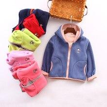 New Baby Girls Boys Autumn Winter Polar Fleece Soft Hoodies Jacket Vests Waistcoat Trousers Kids Children Teenagers Coat Outwear